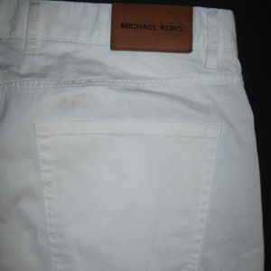 Michael Kors Collection Jeans - Michael Kors Slim Fit Jeans White Pants Casual